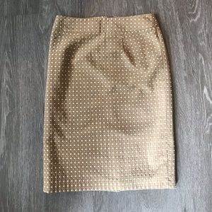BANANA REPUBLIC Tan skirt!